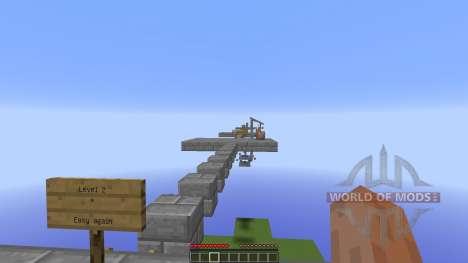 The 4 Challanges для Minecraft