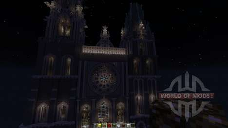 Chartres Cathedral для Minecraft