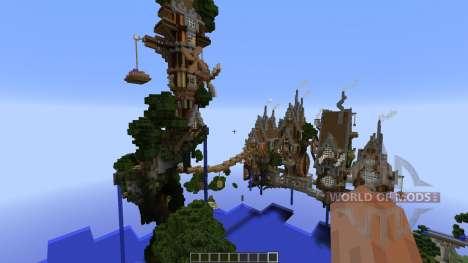 Steampunk ISland для Minecraft