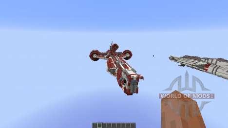 Star Wars Galactic Republic ConsularClass Cruis для Minecraft