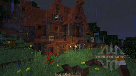 Acacia House для Minecraft