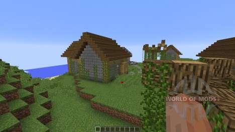 Broken tower island для Minecraft