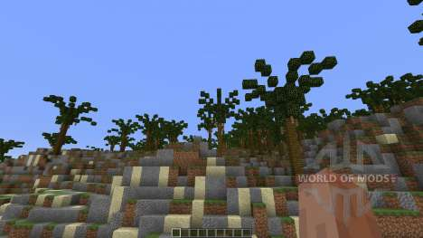 Custom Terrain Volcanic Island для Minecraft