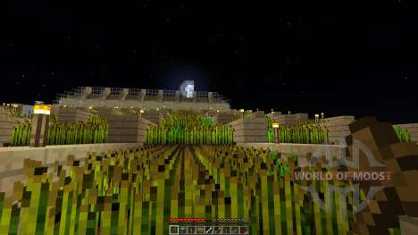 MEGA Wheat Farm 6604 SEEDS Updated для Minecraft