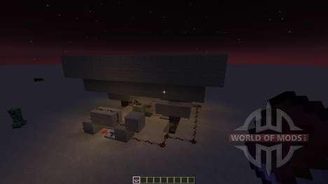 Moving Sand trap для Minecraft