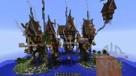 Steamshire Bridge Line для Minecraft