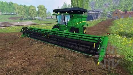 John Deere S 690i v1.0 для Farming Simulator 2015