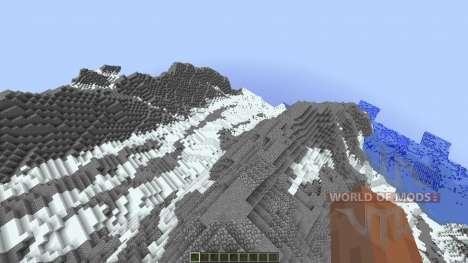 Super realistic mountain для Minecraft
