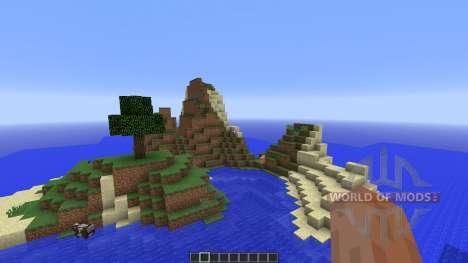 Tropical survival island для Minecraft
