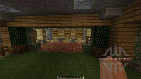 UnderGround Base для Minecraft