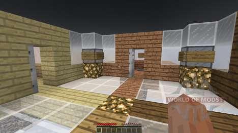 Sky Castle Chunk Battle для Minecraft