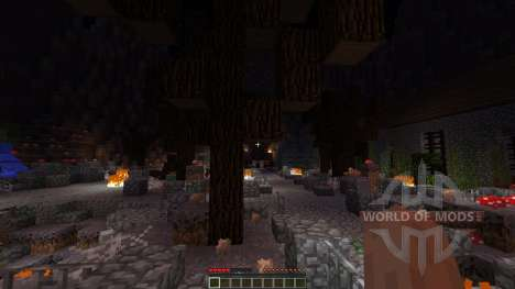 Pumpkin Wizard Boss Fight для Minecraft