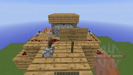 Seamless in ground piston trap для Minecraft