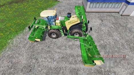 Krone Big M 500 v1.1 для Farming Simulator 2015