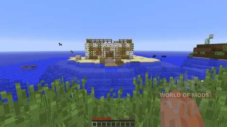 Goldys Starter Home для Minecraft