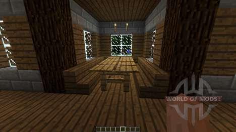 Medieval House Farm для Minecraft