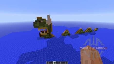 Sea snake island для Minecraft