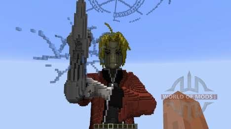 Edward Elric Fullmetal Alchemist для Minecraft