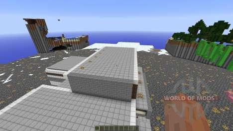Prison Server Spawn для Minecraft