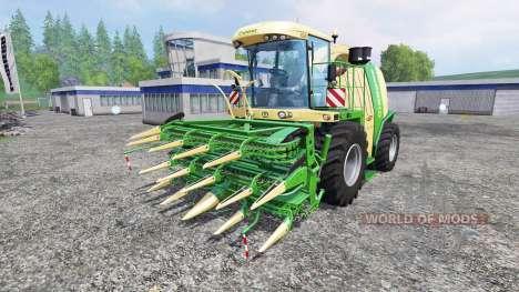 Krone Big X 1100 v2.0 для Farming Simulator 2015
