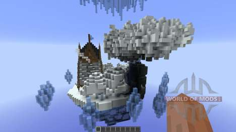Nacreous Ice Island Concept для Minecraft