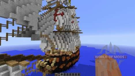 Spanish Frigate: Perla de Espana для Minecraft
