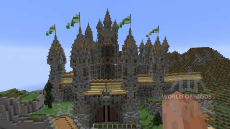 Kingdom of Cial A server spawn для Minecraft