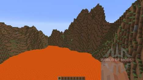 Valley Mountains для Minecraft