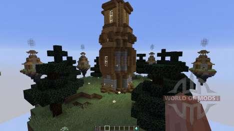 Map Castle Minecraft Skywars для Minecraft