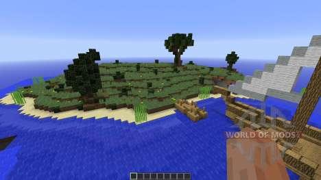 Survival Island plus для Minecraft