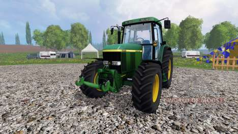 John Deere 6910 v3.0 для Farming Simulator 2015