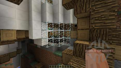 Circumflex Modern Water Mill House для Minecraft