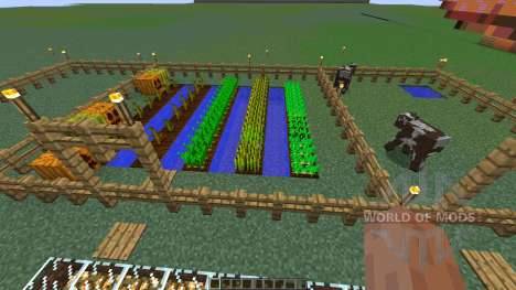 Charlotte Demons pepper farm для Minecraft
