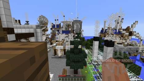 Mechanic City для Minecraft