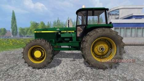 John Deere 4755 v1.1 для Farming Simulator 2015