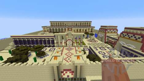 Nefertaris Palace для Minecraft