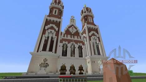 Traditional Synagogue для Minecraft