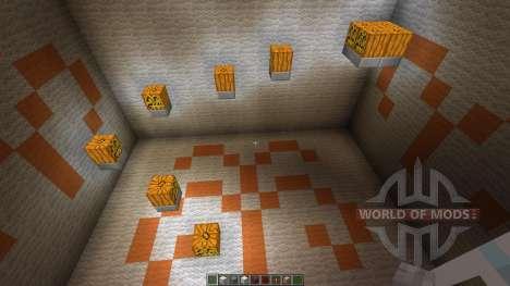11 seconds Parkour Map для Minecraft