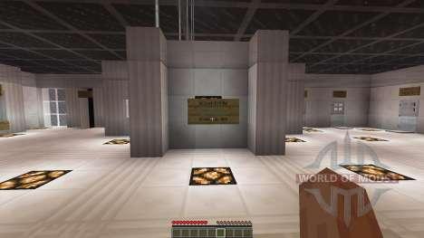 Parkour PvP Map для Minecraft
