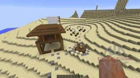 The Dunes Beach для Minecraft