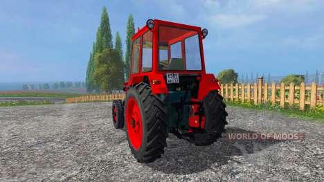 ЮМЗ-6КЛ v1.1 для Farming Simulator 2015