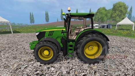 John Deere 6170R v3.5 для Farming Simulator 2015