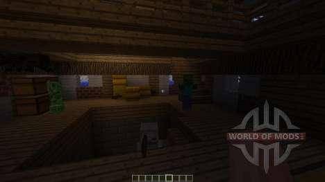 Small Flowing Steampunk Farm для Minecraft
