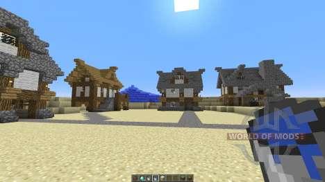 Medieval Village Concept для Minecraft
