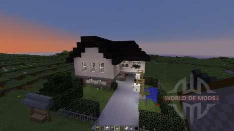Classic house для Minecraft