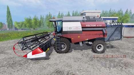 Вектор 410 для Farming Simulator 2015
