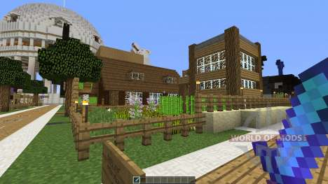 Foxy Hole для Minecraft