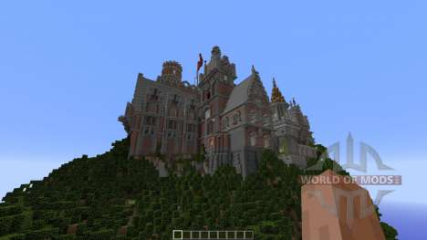 Menock Castle для Minecraft