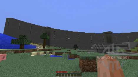 Section of Halo Ring для Minecraft