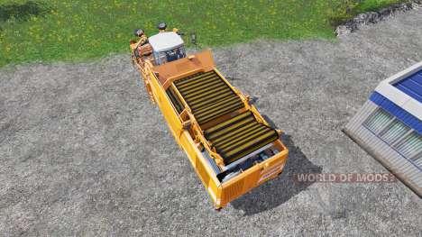 Grimme Tectron 415 [orange] для Farming Simulator 2015
